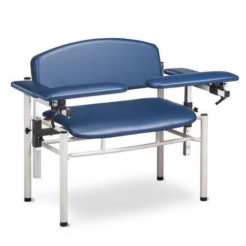 Clinton Blood Drawing Chair - 6006-U SC Series Padded - Booth Medical