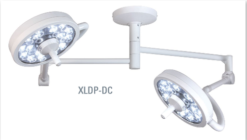 Bovie - MI 750 LED - Exam Light, Double Ceiling Mounted - XLDP-DC