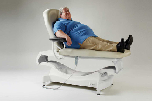 Ritter 244 Barrier Free Bariatric Power Treatment Table
