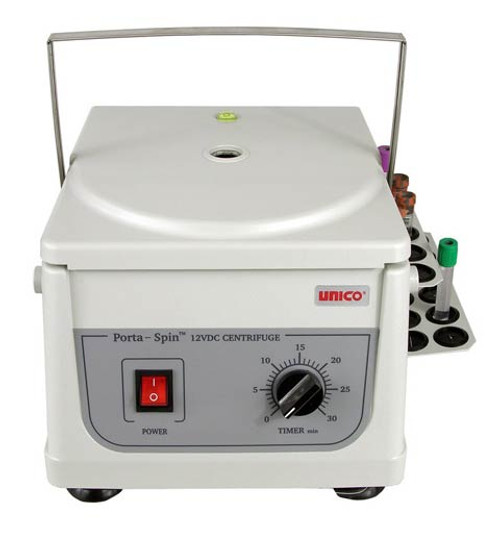 Unico PowerSpin Mobile Fixed Speed Centrifuge - Optional Holdster