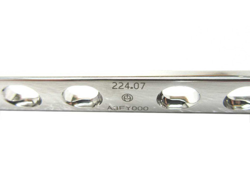 Booth Medical - Synthes 4.5mm Narrow DCP Plate, 7 Holes, 119mm - 224.07
