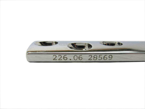 Booth Medical - Synthes 4.5mm Broad DCP Plate, 6 Holes, 103mm - 226.06