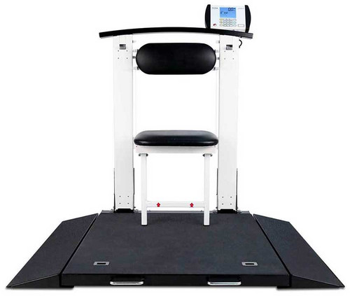 Detecto 6570 Wheel Chair Scale with Seat