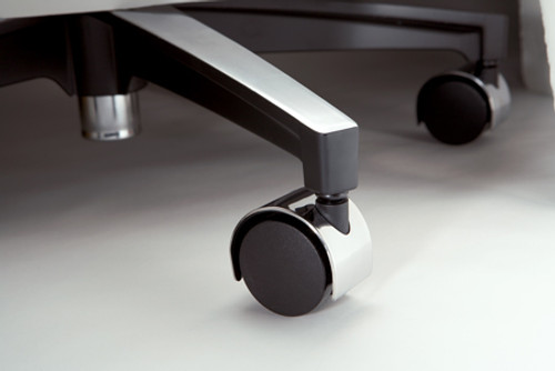 Booth Medical - Midmark 279 Air Lift Stool with Hooded Casters