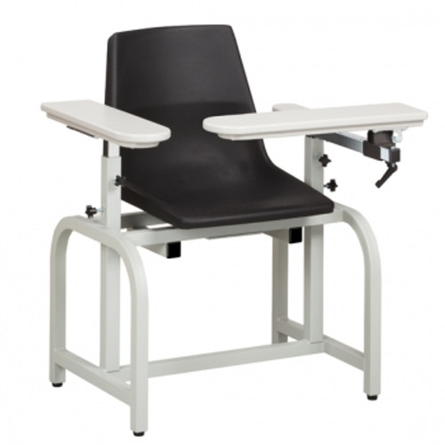 Clinton 66060-P Phlebotomy chair with flip arm