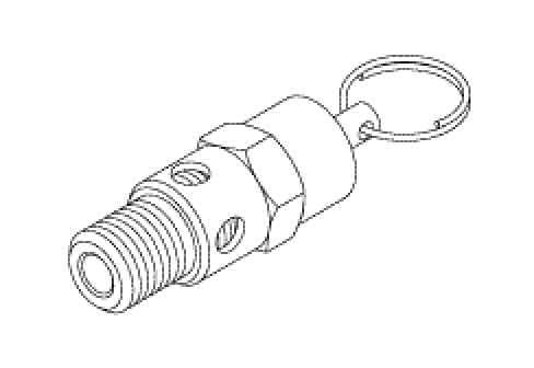 Safety Valve For Dental Compressor  - CMV046