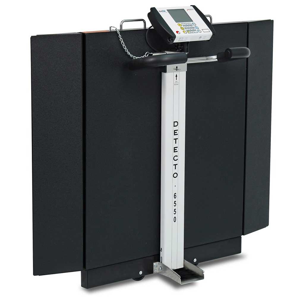 550 Detecto - Wheelchair Scale,  Folding Column