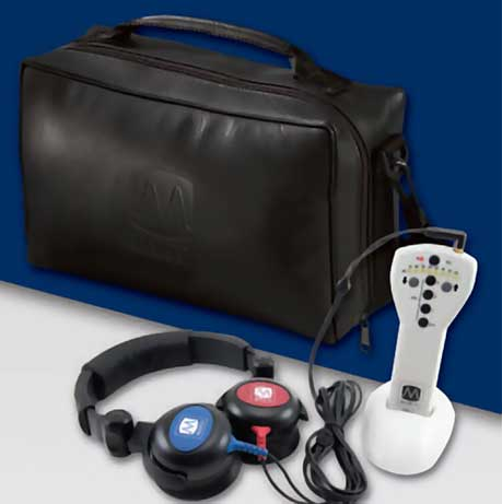 Maico MA1 Audiometer, Air Conduction With Carry Case