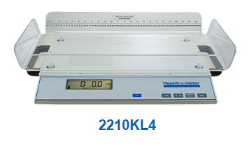Health O Meter High Resolution Digital Neonatal Scale - 2210KL  - 4 sided