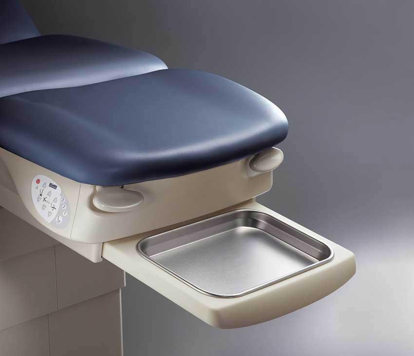 Midmark 647  Power Podiatry Procedures Chair - Debris Tray