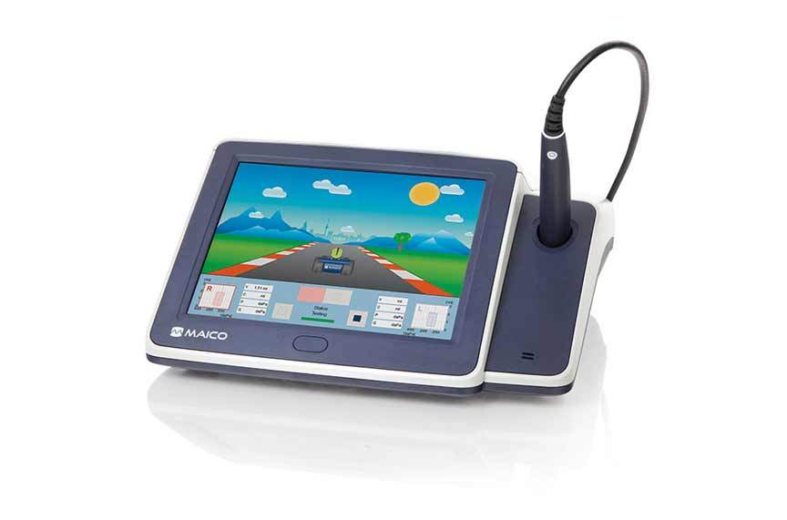 Maico - touchTymp MI26 Screening Tympanometer  & Audiometer RaceCar