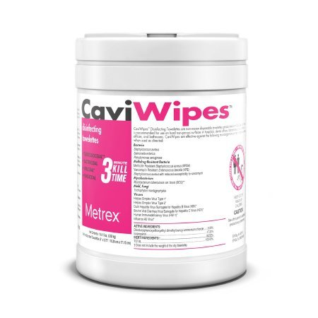 CaviWipes - Multi-purpose Disinfectant Wipe 12/cs - 13-1100