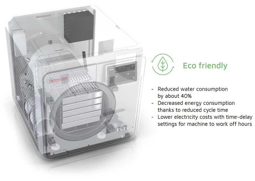 T-Edge 10 Tuttnauer Automatic Autoclave Sterilizer (T-Edge10) Eco Friendly