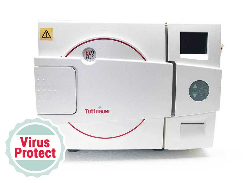 Booth Medical - Tuttnauer EZ9Plus Autoclave with virus protect