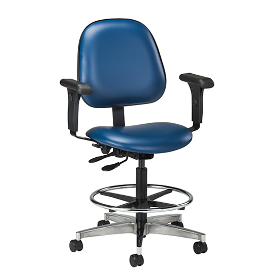 Ritter Style Medical Office EXAM STOOL SEAT COVER VINYL REPLACEMENT TOP Lab