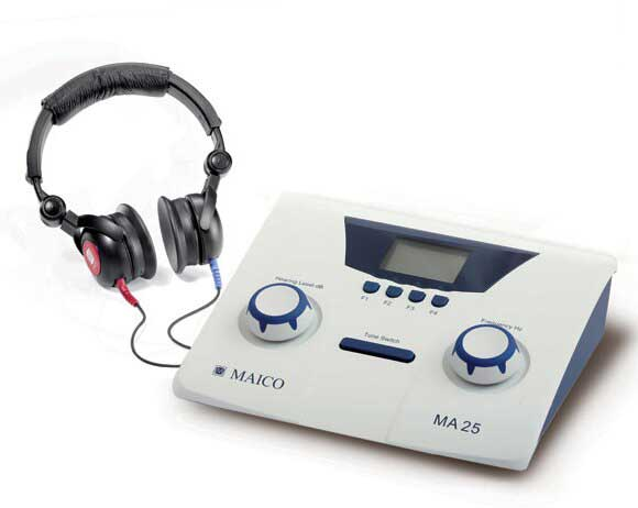 Booth Medical - Maico Audiometer - MA25 Air Conduction - 8013738