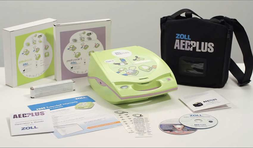Zoll Aed Plus What's Included