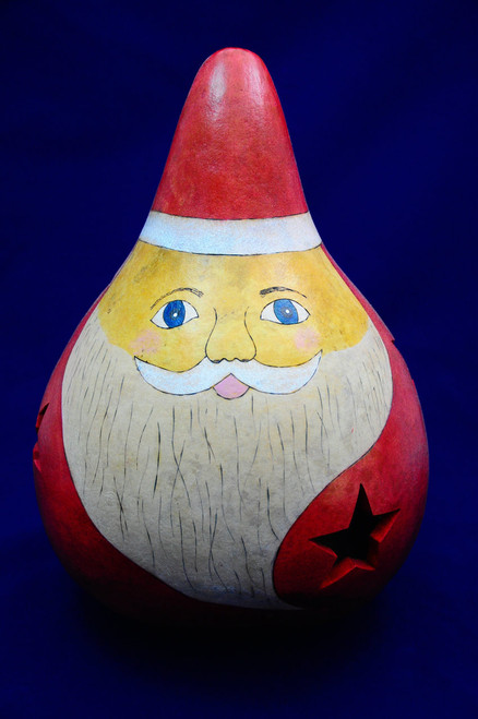 Add this delightful Santa to your Christmas collection. It stands 12 to 14 inches tall.