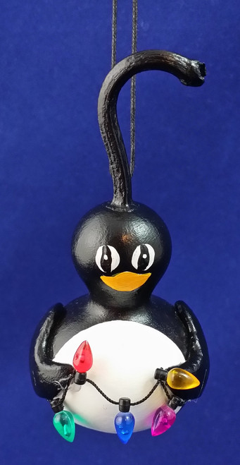 Mini Penguin Ornament ~ Waddles