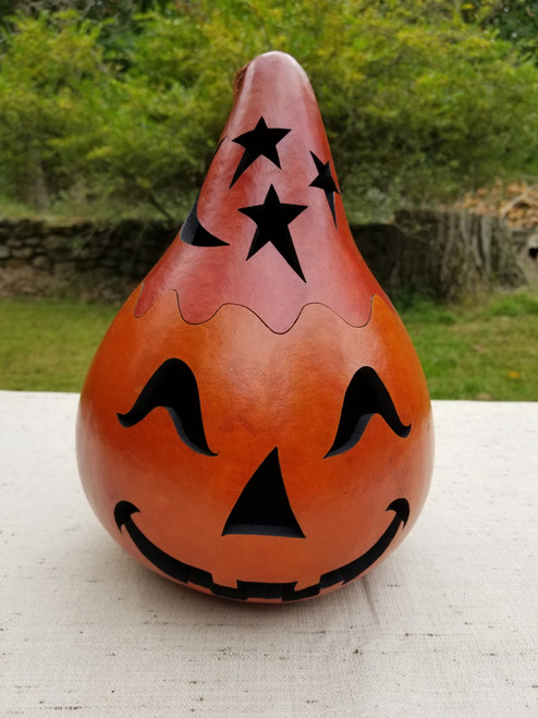 Jack O'Lantern with Red Top - #2
