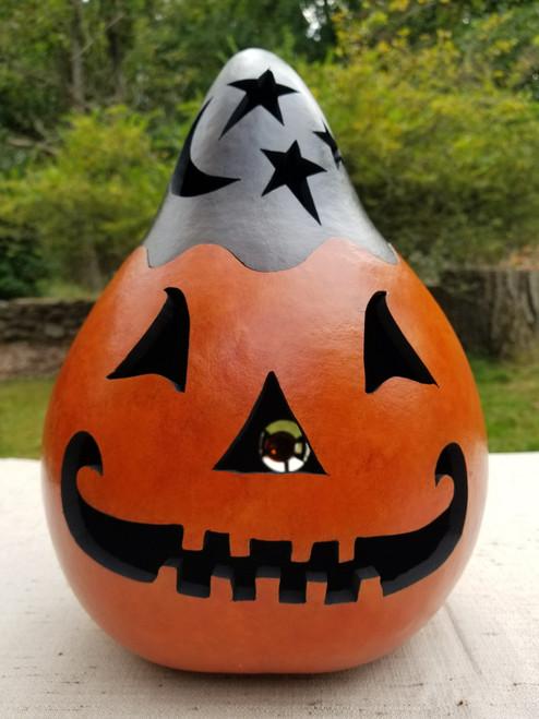 Jack O'Lantern with Black Top - #7