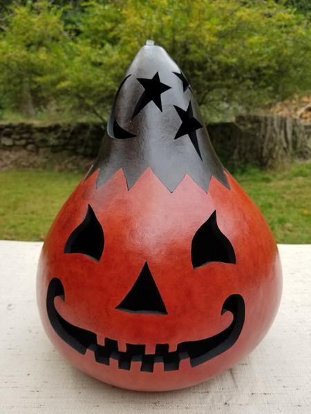Jack O'Lantern with Black Top - #4