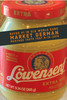 Lowensenf Extra Hot Mustard 9.3oz