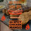 Spicy Chicken Mango Sausages (20) per 5.2 lb.