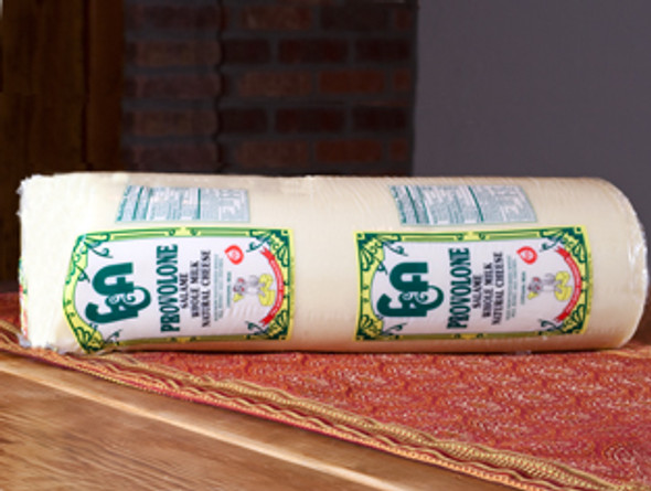 Provolone cheese is an Italian cheese made from cows milk from the southern portion of italy. This classic cheese goes great with salami or with a traditional turkey sandwich.