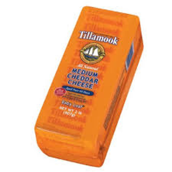 Tillamook Medium Cheddar is so rich and creamy, we think it's the world's most perfect food. Each batch, made from the same recipe we've used for over a hundred years, is aged naturally for at least 60 days. No wonder it won World's Best Medium Cheddar.