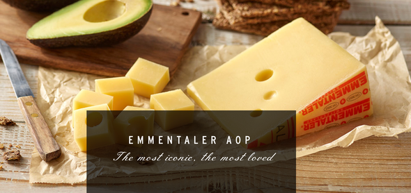 Mifroma Emmentaler Mild Swiss Cheese (per 1lb.)