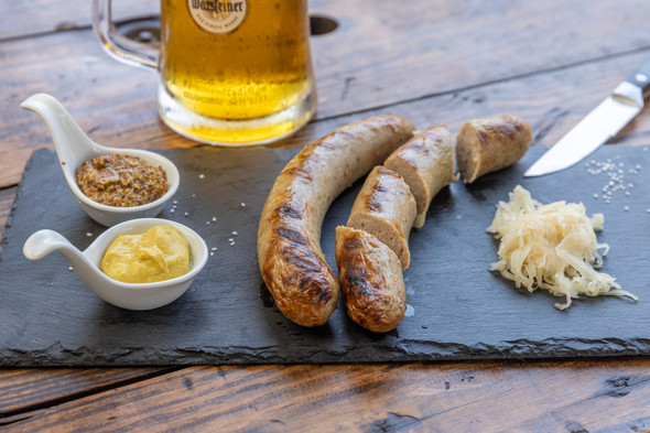 Bratwurst (Nuernberger) 5 lb. (15 brats)