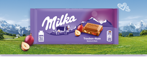 Milka Trauben-Nuss 100g