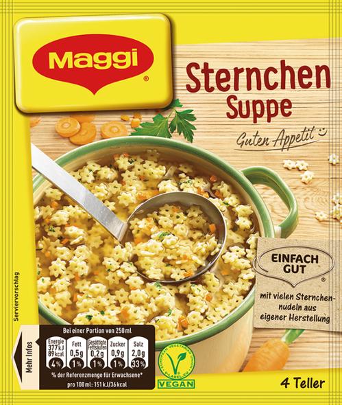 Maggi Sternchen Suppe 1000ml