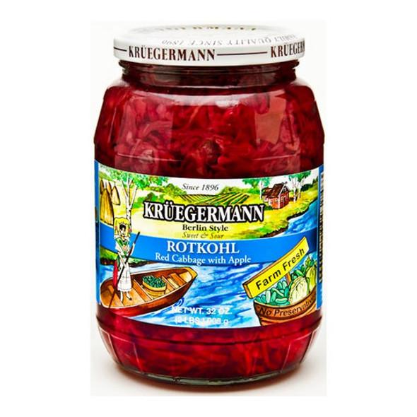 Kruegermann Rotkohl Berlin Style 32oz