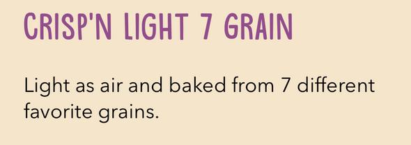 Wasa Crisp'N Light 7 Grains