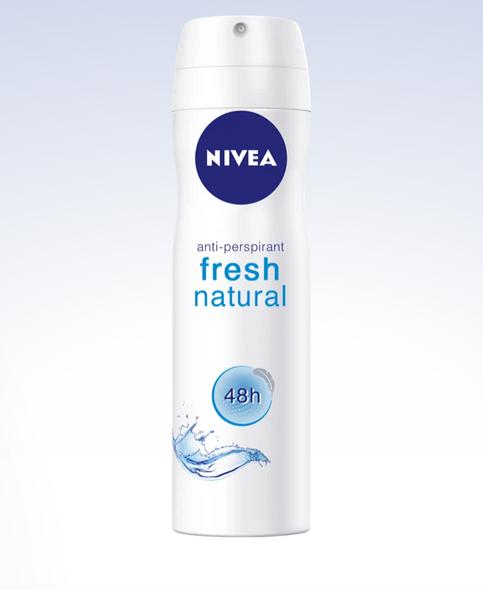 Nivea Fresh Natural Anti Perspirant Spray 150ml