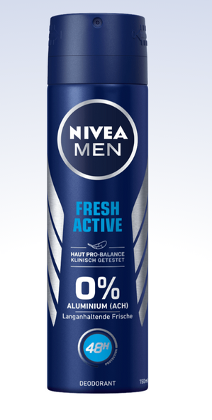 Nivea Men Fresh Active Anti-Perspirant 150ml