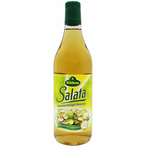 Kuhne Salata Seasoned Vinegar Dressing with Italian Herbal Extracts 750ml