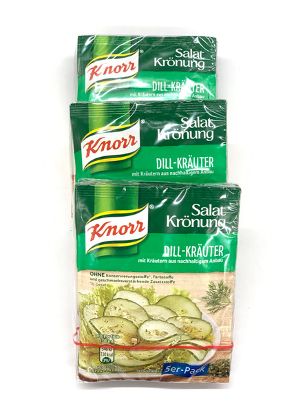 Knorr Salat Kronung Dill-Krauter 3x5 pack (free shipping)