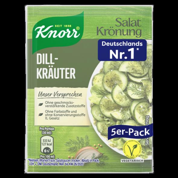 Knorr Salat Kronung Dill-Kräuter 3x5 pack (free shipping)