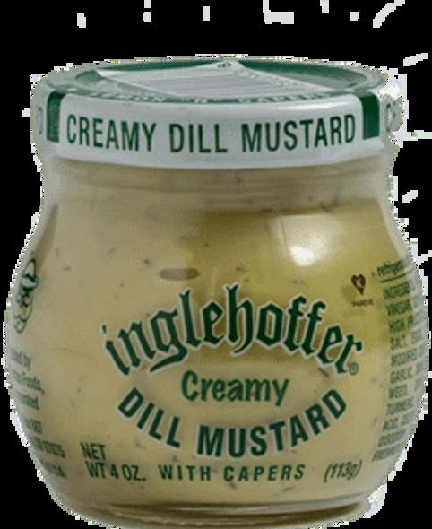 Inglehoffer Creamy Dill Mustard 4oz