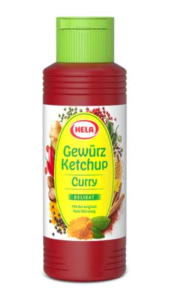 Hela Gewurz Curry Ketchup  300ml (348g)