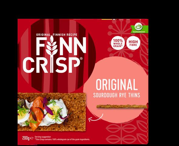 Finn Crisp Original Sourdough Rye 200g