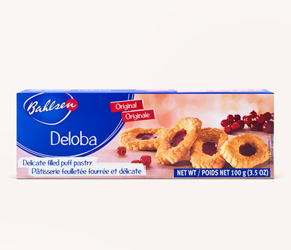 Bahlsen Deloba Puff Pastry with Red Currant Filling 4.4oz