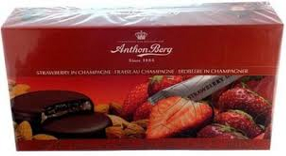 Anthon Berg's unique and delicate marzipan discs with fruit marmalade, liqueur and the finest marzipan are known all over the world.The discs have a fruit jam center and are covered with a thick coating of high quality dark chocolate. In addition Anthon Berg has its own production of fruit jam and marzipan recipes with long traditions.