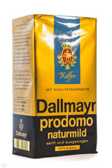Dallmayr Prodomo Naturmild 250g, 8.8oz Ground