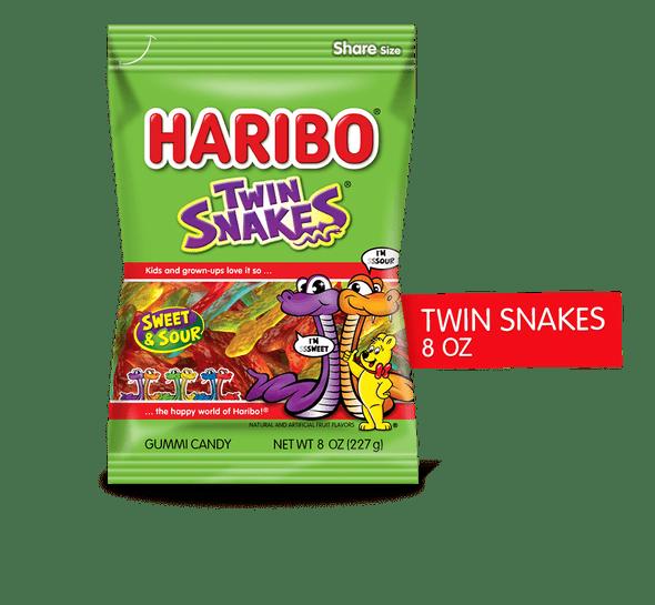Haribo Twin Snakes