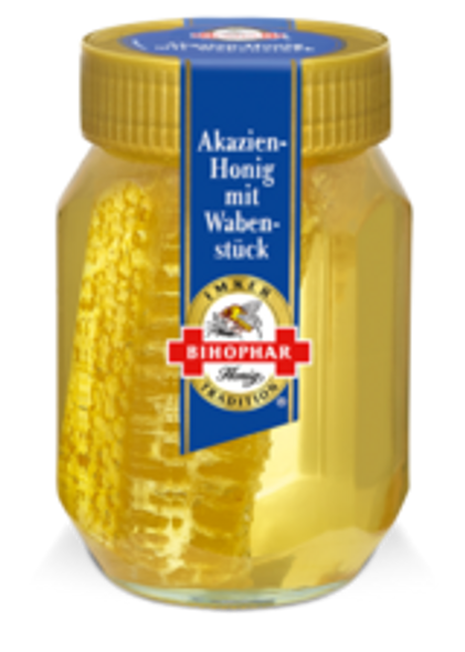 Bihophar ACACIA HONEY WITH HONEYCOMB 500g