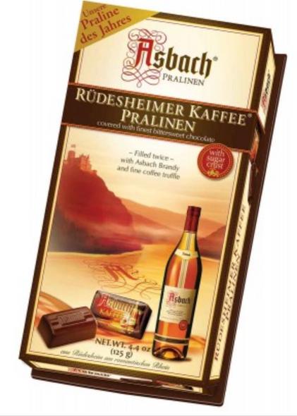 Asbach Pralinen Rudesheimer Kaffee Pralinen 4.4oz (125g)